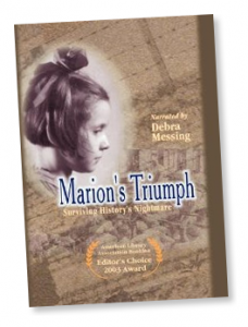 "Highly Acclaimed DVD MARION'S TRIUMPH - SURVIVING HISTORY'S NIGHTMARE ""Editor's Choice"" - American Library Association's BOOKLIST"